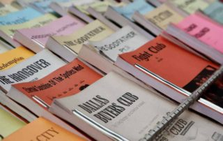 imagem livros a venda ao ar livre