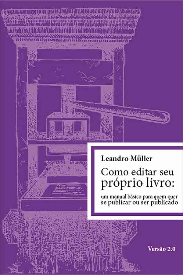 capa livro Como editar seu proprio livro, de Leandro Muller